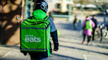 Uber Eats might start showing ads, too
