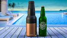 缶もビンもキンキンに冷やすビアホルダー『Frosty beer 2 go』