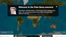 Fake news can help you kill the world in 'Plague Inc.'