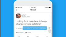 You can finally hide replies to your tweets -- at least for now