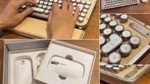 レトロでエモい高級キーボード&マウス「AZIO」発売