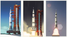 The latest Google Doodle celebrates the Apollo 11 anniversary
