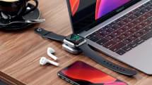 這個輕量化的 Apple Watch 充電器讓你可以更瀟灑地放置
