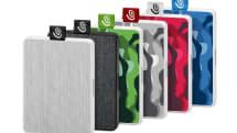 Seagate 的新款便攜 SSD 要在表面材料上做文章
