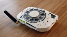 來動手把古早味的轉盤電話變成手機吧