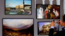 2020 年款的 Samsung The Frame 電視變得更大更智慧