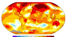 2019 年是史上第二热的一年