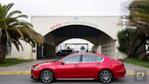 The Acura RLX Sport Hybrid is an agile car with some outdated tech touches
