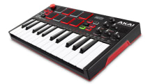 Akai's MPK Mini Play is a compact battery-powered beats machine