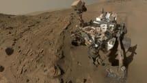 好奇号在火星上测得了意外高的甲烷读数