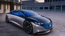 Vision EQS 概念車讓人一窺 Mercedes-Benz 電動車的未來