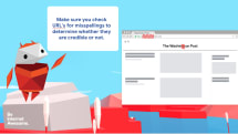 Google 為小朋友設計了一套辨識虛假資訊的課程