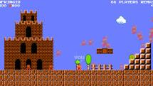 粉絲製的「Mario Royale」讓你和 74 名對手同台競速