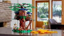 這 Lego 樹屋是用真・植物為原料