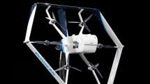 亚马逊的新一代送货无人机同时具备直升机与飞机的特性