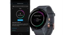 Garmin 的運動手錶在軟體更新後將可追蹤月事