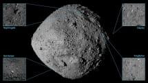 NASA 選定四個 OSIRIS-REx 的著陸候選地點