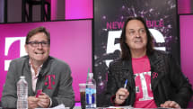John Legere is stepping down as T-Mobile CEO next April