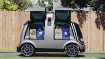 Kroger adds driverless vehicles to its grocery delivery fleet