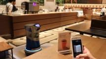 「スマホで注文、ロボットがお届け」の未来カフェ実験が都内でスタート。2019年1月7日より