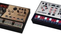 ガジェットシンセKorg Volcaシリーズに「Drum」と「Modular」追加。物理モデル式ドラムと西海岸モジュラー