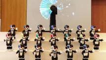 2月1日開業の「変なホテル大阪 心斎橋」では「RoBoHoN」19体がダンスを披露します