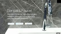 Kohler's Alexa-enabled Sensate kitchen faucet quenches thirst on command