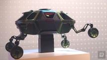 Hyundai 的 Elevate 概念車又能行駛又會爬