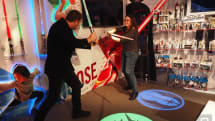 Lightsaber Academy helps you practice your Jedi swing