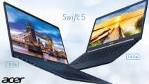 15.6型で1kg切りの「Swift 5」 エイサーが新型ノートPC発売