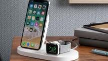 iPhoneとApple Watchワイヤレス充電、+もう1台。ベルキン、3つの機器を同時充電できるドックを発売