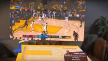 NBA、ARメガネMagic Leap One用の観戦アプリを発表。複数画面でライブ中継やリプレイなど同時鑑賞が可能に