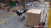 Boston Dynamics、新型ロボ「Handle」を動画で公開。倉庫で最大15kgの荷物を運搬