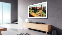 小米推出了一款「壁畫電視」