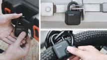 自転車にも使える指紋認証ロック。防水防塵耐衝撃のタフネスな「Anylock」(5/20まで)