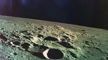 月への衝突直前、高度7.5kmから見た月面。イスラエル民間探査機Beresheetが撮影