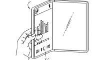 折りたたみスマホは将来透明に? LGが新特許を出願