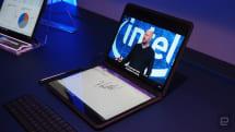 Intel 的雙全螢幕概念機「Twin Rivers」是又一次的嘗試