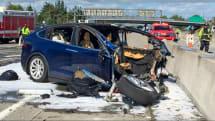 Tesla sued over fatal 2018 Model X crash with Autopilot engaged