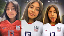 Nike's latest Snapchat Lens shows support for USWNT