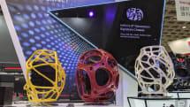 迎广 2019 年的概念机壳应用了 3D 打印与布料