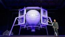 世界一の富豪ジェフ・ベゾス、月着陸船Blue Moon発表。「宇宙ビジネスの基盤を月面に作る」