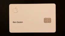 Apple Card、物理カード写真がリーク。チタン製プレートにレーザー刻印のゴージャス仕様