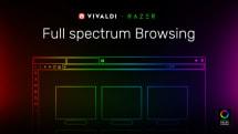 VivaldiブラウザーがRazer Chromaと連携 ウェブサイト色をLED発光色に反映