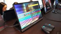 华硕为玩家带来全球首款 240Hz 刷新率的便携游戏屏幕