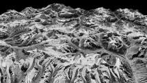過去40年分のスパイ衛星画像でヒマラヤ氷河の減少を浮き彫りに。約650の氷河を3Dモデル化
