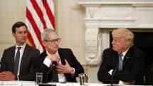 アップル、対中関税引き上げに反対姿勢 米政府に警告の書簡