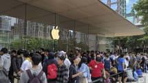 台湾第二间苹果直营店在信义区盛大开幕