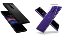 「Xperia 1」専用のMIL規格取得ケースとクリアケースが発売に。Spigenから