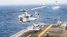 アメリカ海軍、イラン無人機撃墜に新兵器「MADIS」使用。妨害電波で強制的に墜落
